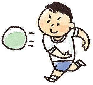 ドッヂボール,ルール,体育